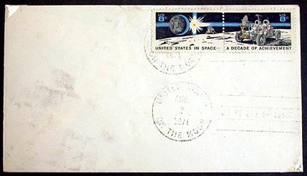Philatélie Spatiale USA - 1971 - Space Achievement Decade (Apollo 15) A15fir10