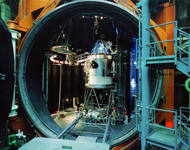 La Vacuum Chamber A du Johnson Space Center - 50ème anniversaire du début des travaux Apollo13