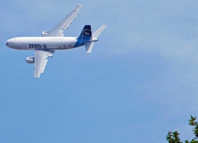 15 mars 2013 - Premier vol Zero G pour le grand public en France As049310