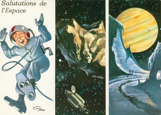 Cartes spatiales humoristiques Espace10