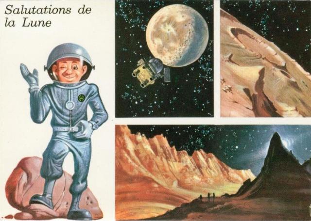 Cartes spatiales humoristiques Espace11