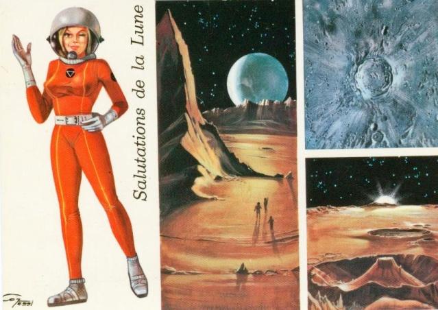 Cartes spatiales humoristiques Espace12
