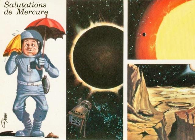 Cartes spatiales humoristiques Espace13