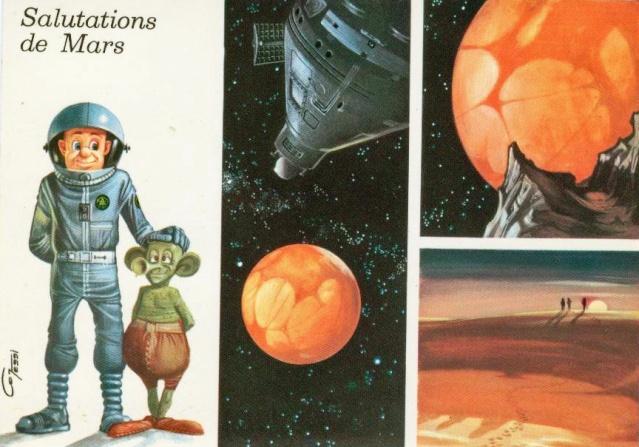 Cartes spatiales humoristiques Espace14