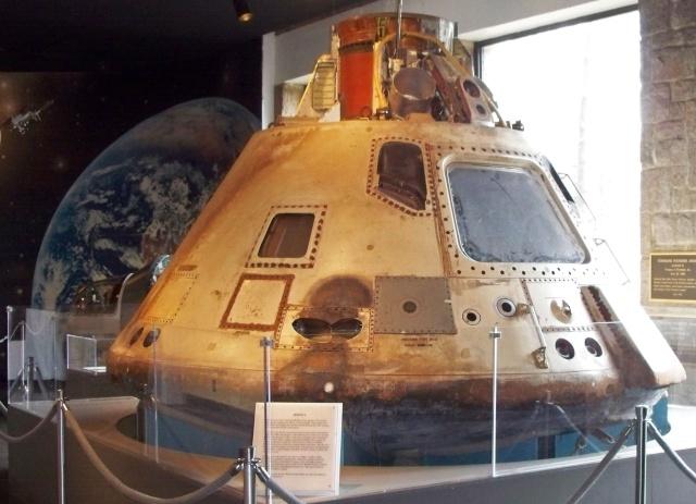 La capsule Apollo 6 du Fernbank Museum d'Atlanta Fernba11