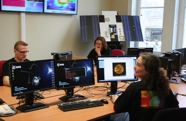 3 avril 2013 - Inauguration du Centre de coordination des services de météorologie de l'espace de l'ESA Img_3910