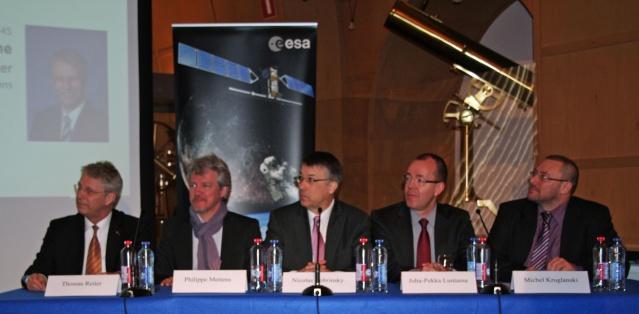 3 avril 2013 - Inauguration du Centre de coordination des services de météorologie de l'espace de l'ESA Img_3911