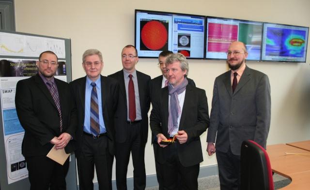 3 avril 2013 - Inauguration du Centre de coordination des services de météorologie de l'espace de l'ESA Img_4012