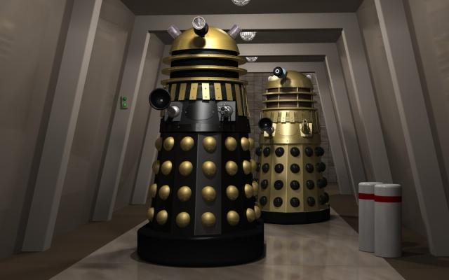 Disparition de Ray Cusik (1928 - 2013), créateur des fameux Daleks du Dr Who March_10