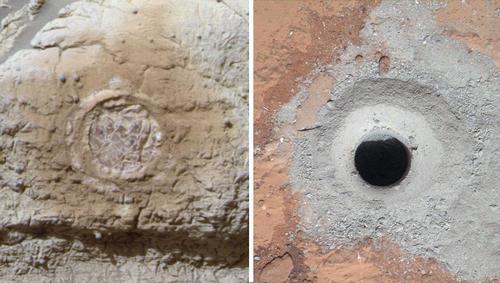Curiosity - Des traces de vie sur la planète Mars ? Pia16810