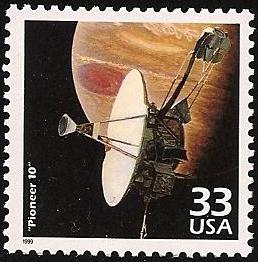Philatélie spatiale USA - 1975 - Pioneer 10 / Jupiter Pionee15