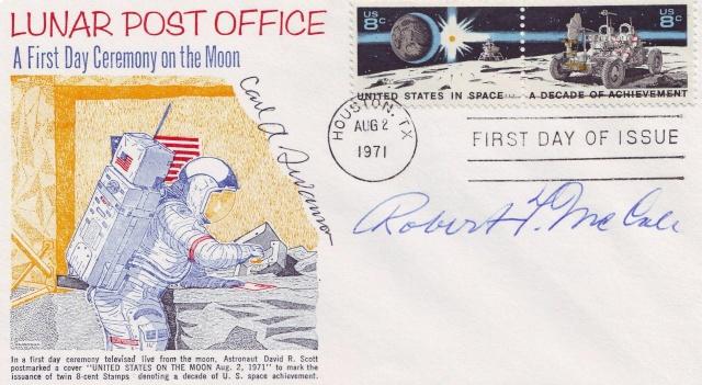 Philatélie Spatiale USA - 1971 - Space Achievement Decade (Apollo 15) Scan1010