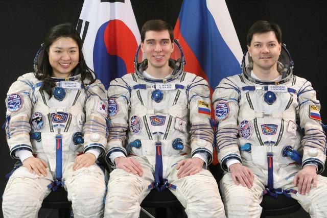 8 avril 2008 - Soyouz TMA-12 - Soyeon Yi devient la première coréenne dans l'espace Soyouz15
