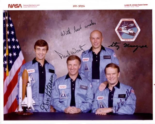 30ème anniversaire de la mission STS-6 / 1ère EVA et 1er vol Challenger Sts-6_11