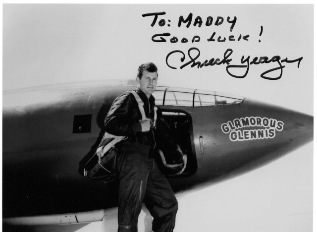 Chuck Yeager fête ses 90 puis ses 95 ans ! Yeager10