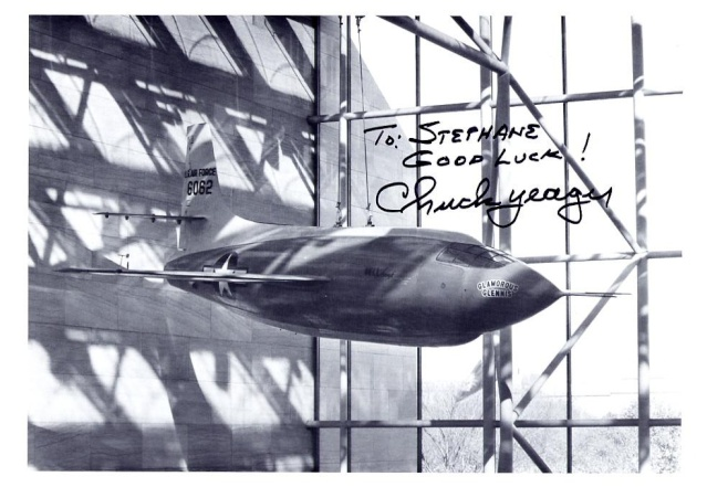 Chuck Yeager fête ses 90 puis ses 95 ans ! Yeager11