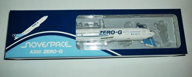 Maquette de l'Airbus A300 Zero G de Novespace Zero_g14
