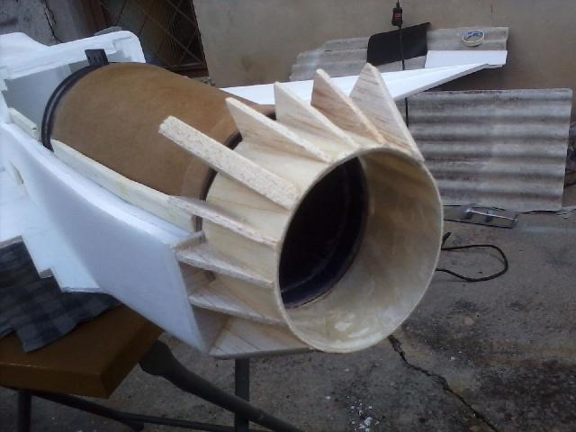 Jato Mirrage 2000 EDF 90mm 6S. (Construtor Elcio). 1210