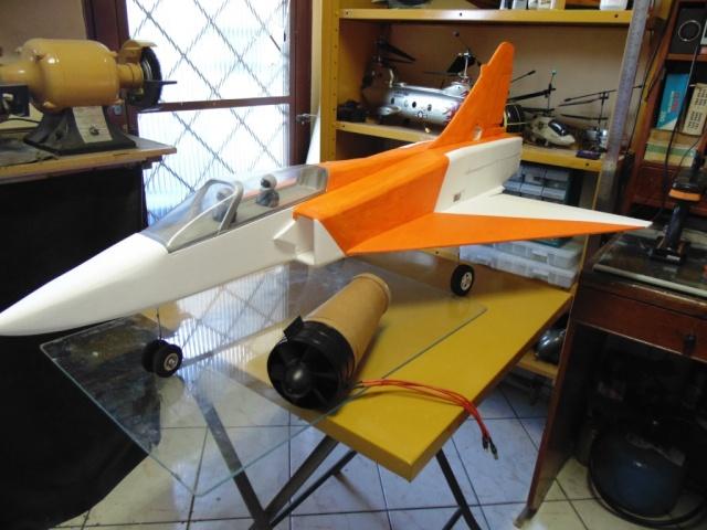Jato Mirrage 2000 EDF 90mm 6S. (Construtor Elcio). 1610