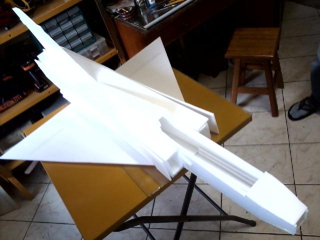 Jato Mirrage 2000 EDF 90mm 6S. (Construtor Elcio). 210