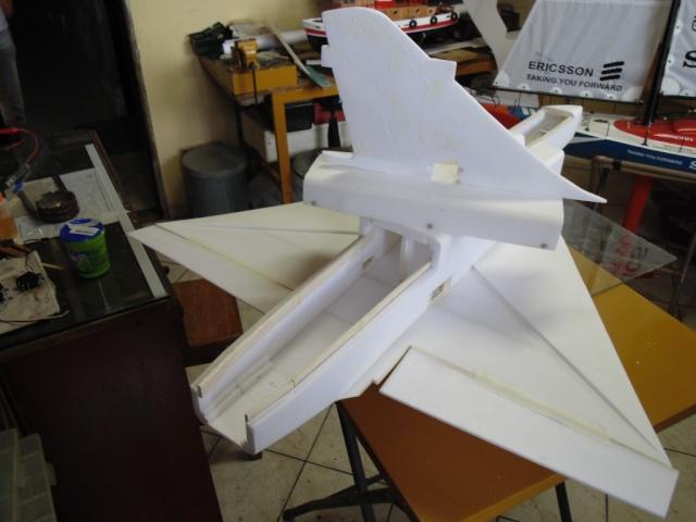 Jato Mirrage 2000 EDF 90mm 6S. (Construtor Elcio). 310