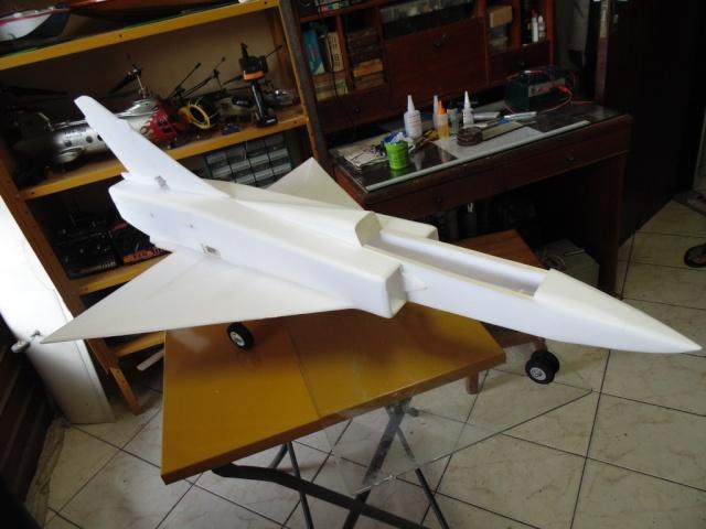 Jato Mirrage 2000 EDF 90mm 6S. (Construtor Elcio). 510