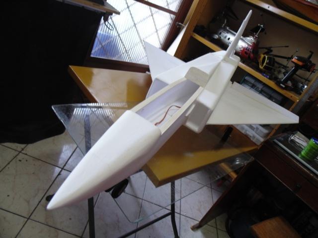 Jato Mirrage 2000 EDF 90mm 6S. (Construtor Elcio). 910