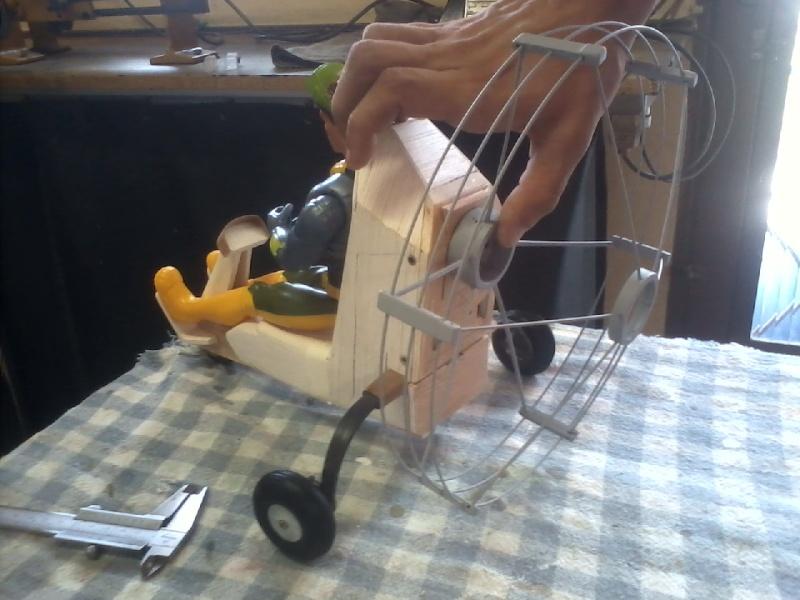 Paramotor da Miriam, (construtor Elcio). P16-0210