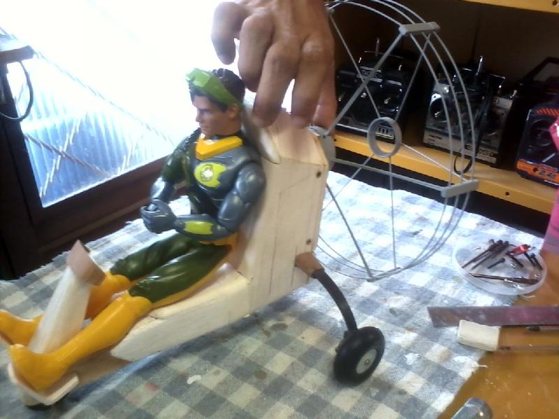 Paramotor da Miriam, (construtor Elcio). P16-0211