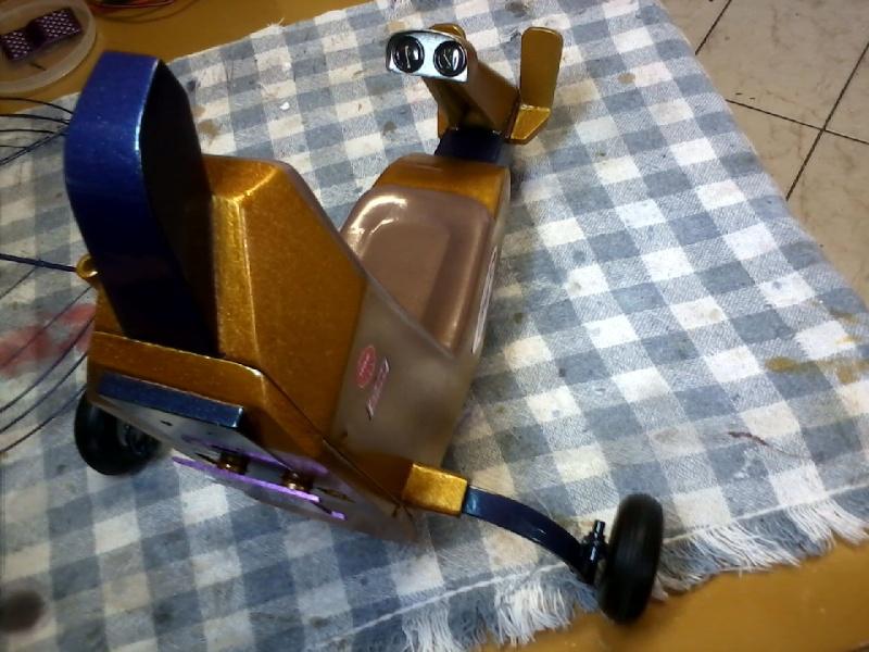 Paramotor da Miriam, (construtor Elcio). P20-0211