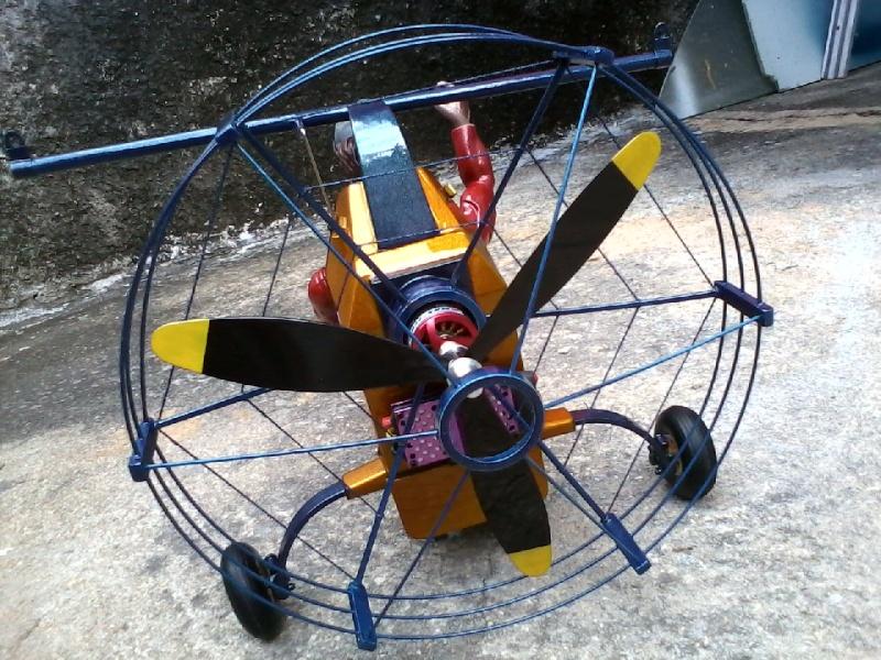 Paramotor da Miriam, (construtor Elcio). P22-0212