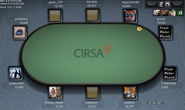1ª Jornada de la Liga Nacional Team Poker Fuenla  Ft110