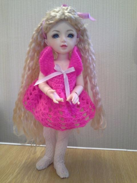 Ma petite Fleur dans sa nouvelle tenue ( p2) ( momocolor Corinne )  20141110