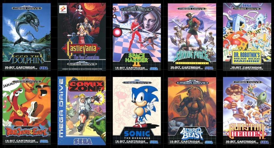 Mega Drive Mini : Date de sortie, prix et 10 jeux révélés par SEGA 26049110