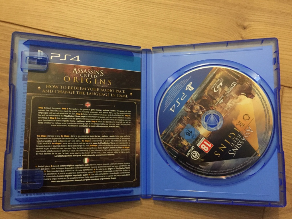 [VDS] Assassin's Creed Origins PS4 15€ in 367a8b10