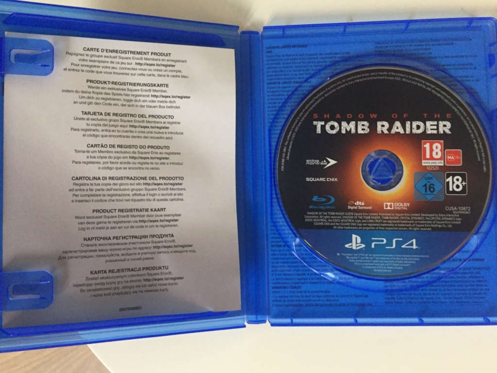 [VDS-ECH] Shadow of the tomb raider PS4 TBE 35 in 9a79ae10