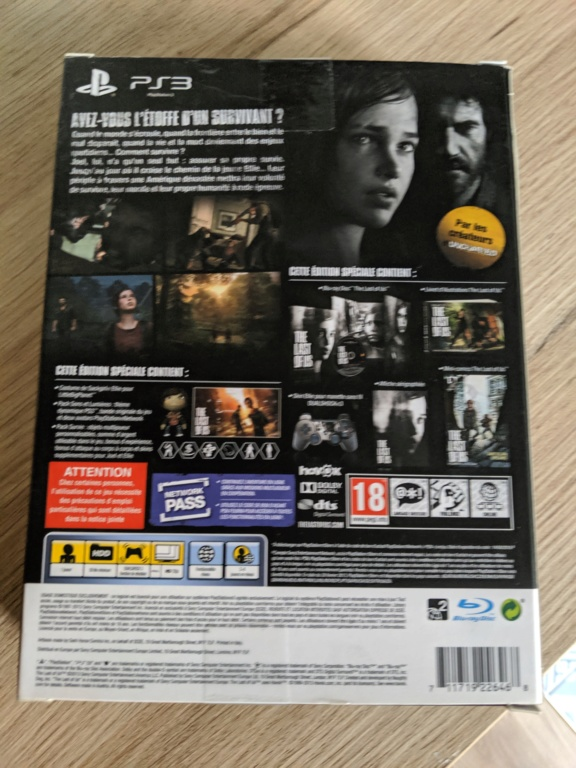 [ESTIM] THE LAST OF US COLLECTOR ELLIE PS3 NEUF Img_2049