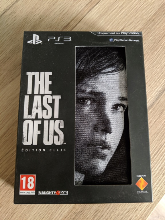 [ESTIM] THE LAST OF US COLLECTOR ELLIE PS3 NEUF Img_2050