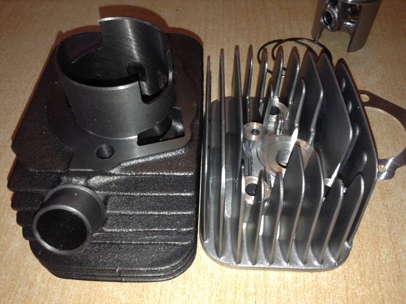 Le kit athena 50cc, déballage, montage et test  - Page 7 Img_0610