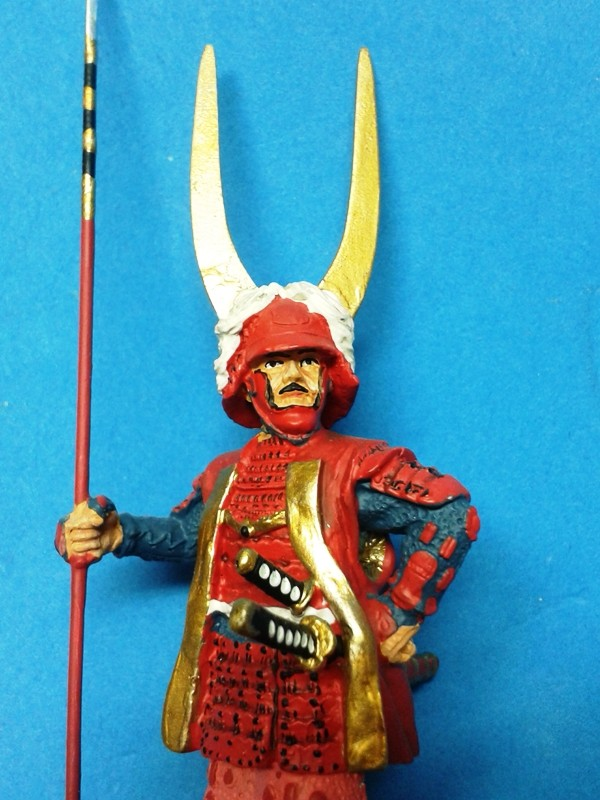 Samurais von Del Prado.. 20130428