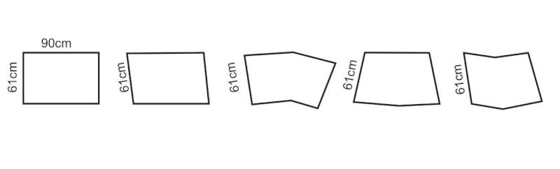 Dimensão ideal para a seção de um módulo Madulo11