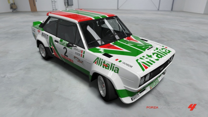 Fiat 131 Abarth Alitalia - Team Vighello Isobdr Fiat_110