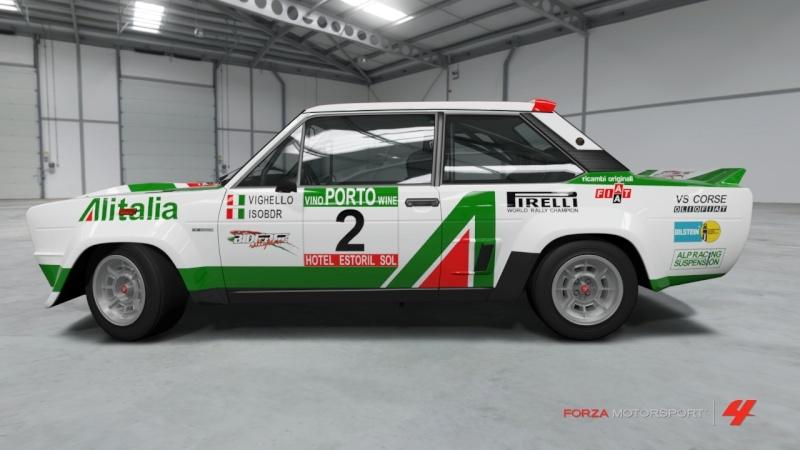 Fiat 131 Abarth Alitalia - Team Vighello Isobdr Fiat_111