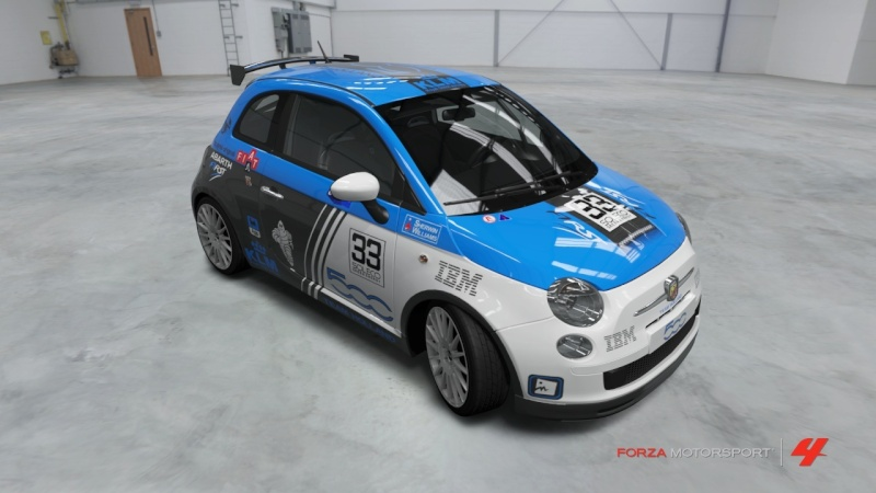 Fiat 500 Abarth - Team Holland Fiat_513