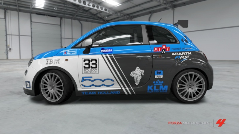 Fiat 500 Abarth - Team Holland Fiat_514