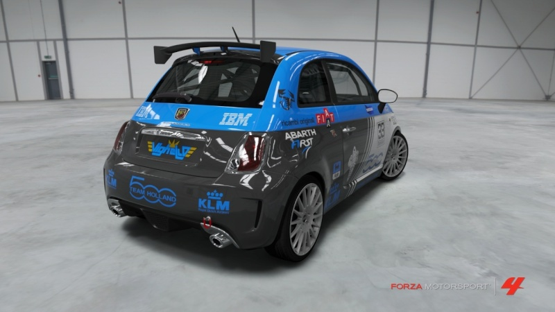 Fiat 500 Abarth - Team Holland Fiat_515