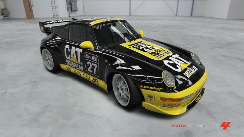 Porsche - 911 GT2 '95 - Team Caterpillar Porsch16