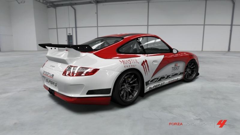 Porsche - 911 GT3 RS '07 - Formula Drift Porsch23