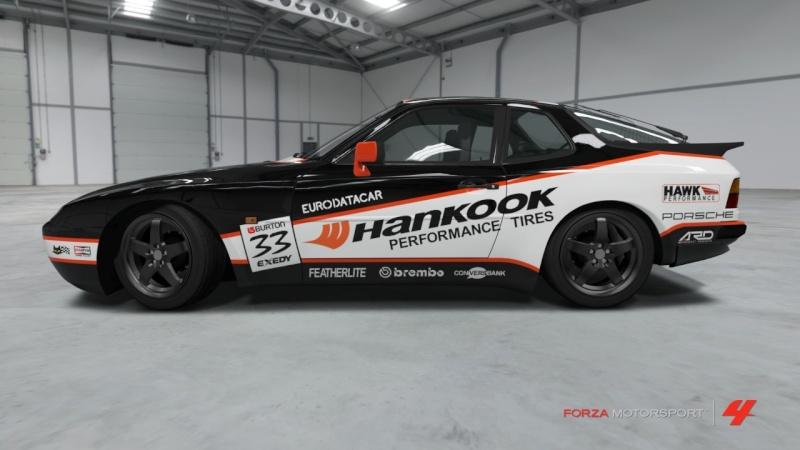 Porsche - 944 Turbo '89 - Team Hankook Porsch27