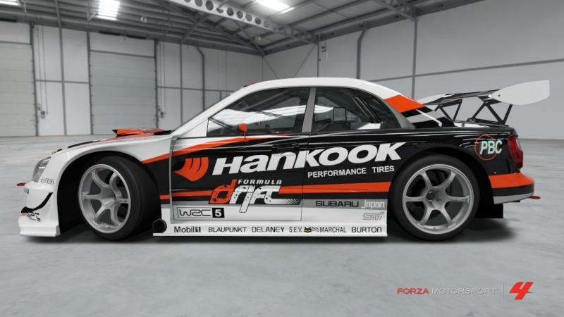 Subaru  - Advan Impreza - Team Hankook Subaru21